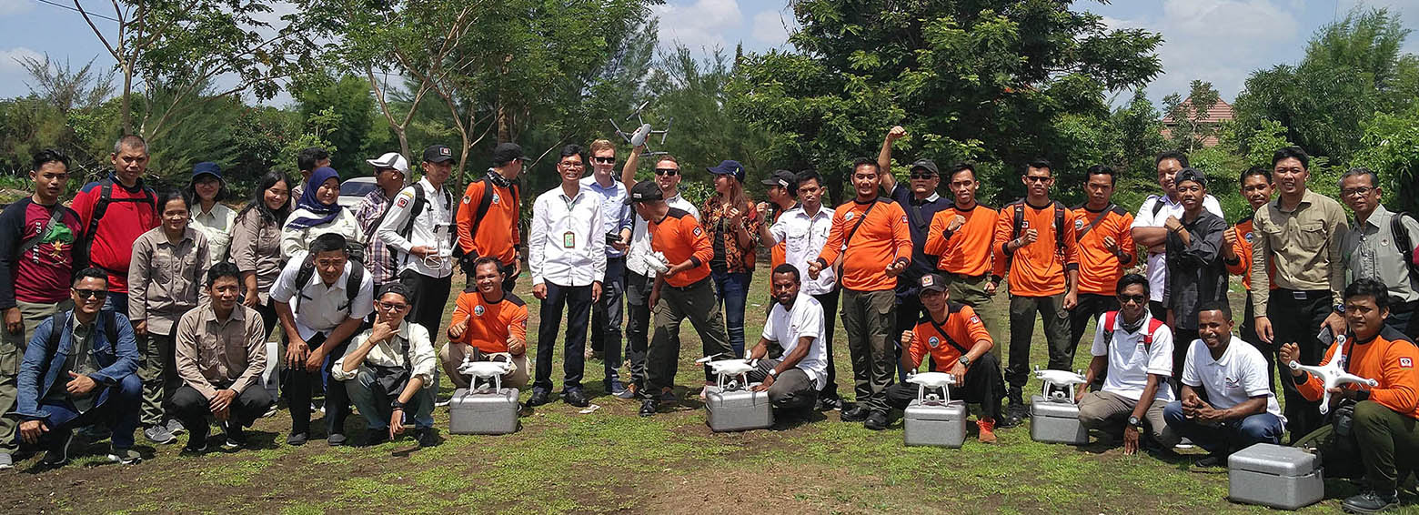 SAR-based burned area mapping training in Indonesia
