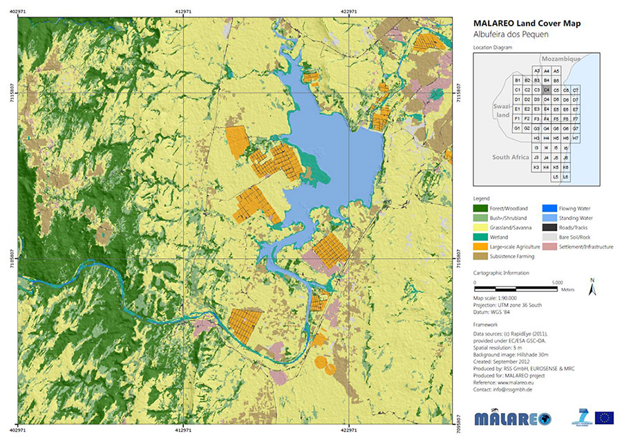 Land cover and land use classification