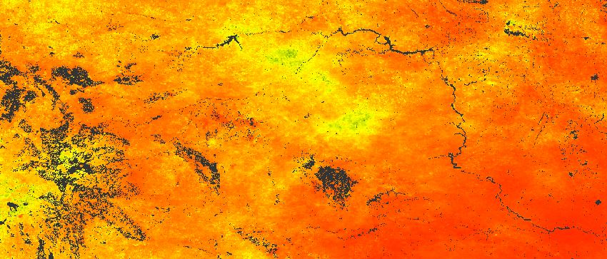 New, spatially transferable method to map drought using remote sensing